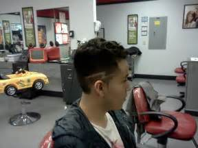 Lightning Bolt Hair High Fade With Lightning Bolt Design Hair By Joshua