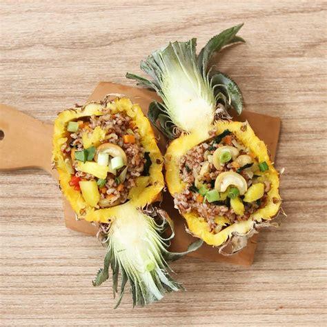 kuliner unik  buah sebagai wadah  coba