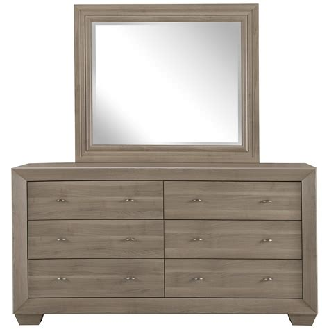 bedroom dressers with mirror city furniture adele2 light tone dresser mirror