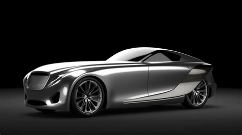 bentley concept bentley 2030 concept alias model rendering car body design