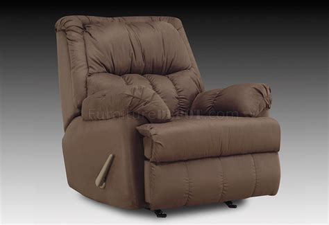 chocolate microfiber recliner chocolate plush microfiber contemporary rocker recliner