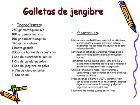 Imagenes De Jengibre En Ingles | receta galletas de jengibre