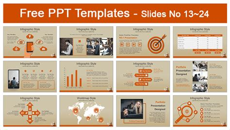 Computer Education Concept Powerpoint Template Computer Education Ppt Templates Free