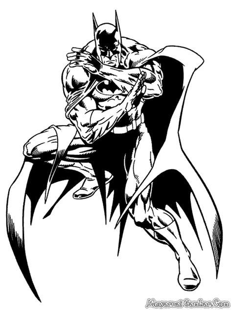Mewarnai Gambar Batman | Mewarnai Gambar