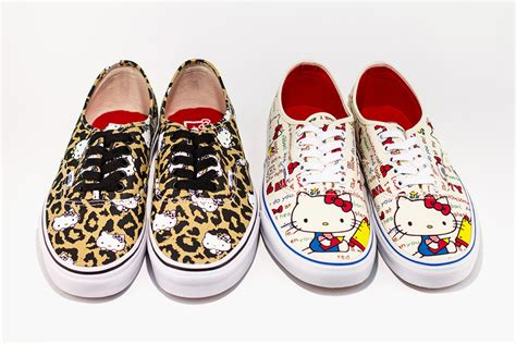 Vans Authentic Hello Kity vans authentic hello pack sole collector