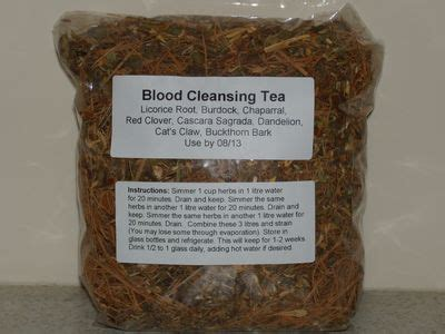 Blood Detox Tea by Kaye S Recipes And Remedies