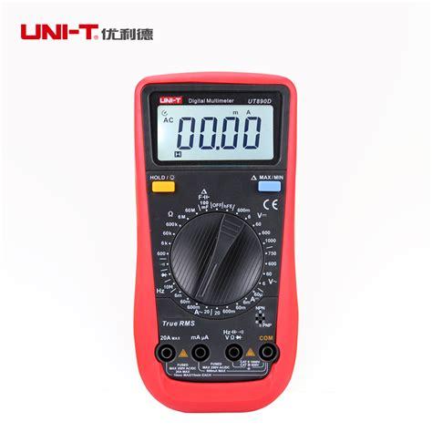 Multitester Kapasitor Digital A6013l Limited uni t ut890d digital multimeter true rms for capacitance resistance frequency multi tester in