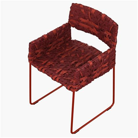 easy armchair driade rikka easy armchair 3d model max obj fbx mtl cgtrader com