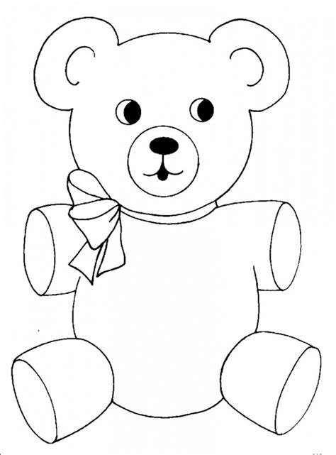 holidays coloring pages teddy bear get this teddy bear coloring pages free 8ahtj