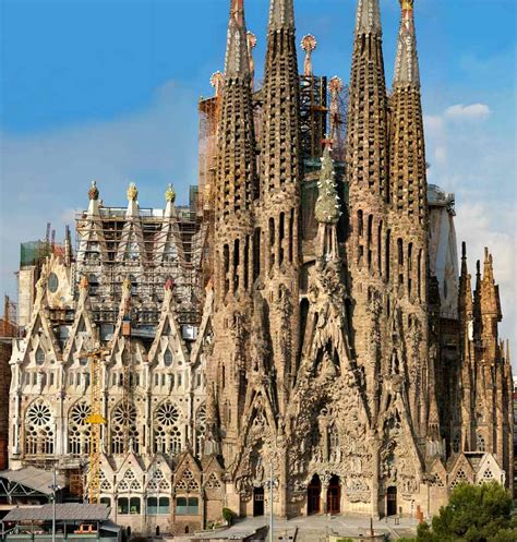 La Sagrada De Familia | bas 237 lica de la sagrada fam 237 lia spain reviews pictures