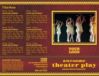 peta theater layout templates print design and design templates on pinterest