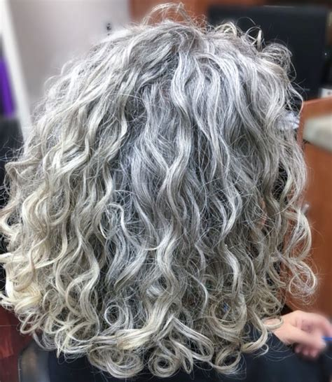 natural curly shoulder length gray hairstyles 1904 best gray hair images on pinterest going gray grey