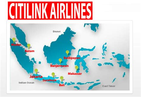 citilink airline code web site icao code map