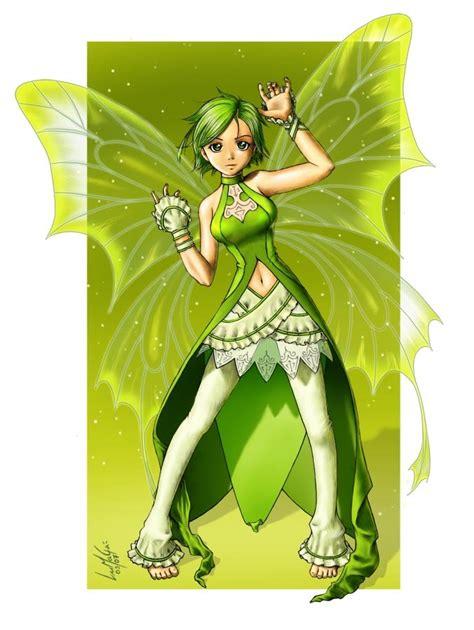 imagenes de hadas verdes hada verde by lumaga on deviantart