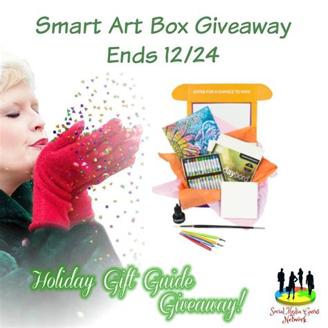 Smart Giveaways - smart art box giveaway ends 12 24 the homespun chics