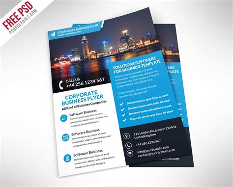template flyer business free flyer templates psd from 2016 187 css author
