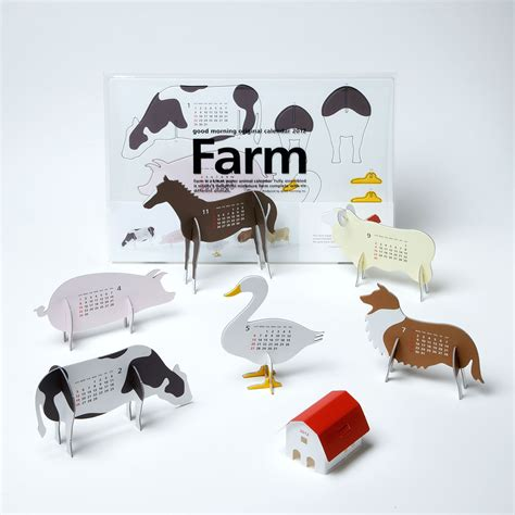 design competition calendar good morning original calendar 2012 quot farm quot graphis