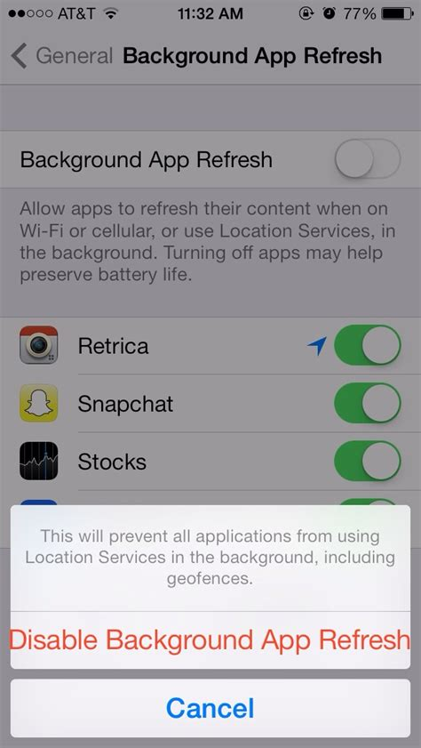 preserve  iphoneipadipod battery life follow