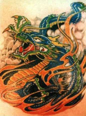 chinese water dragon tattoo designs gallery