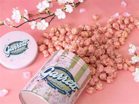 garrett jepang rilis sakura popcorn  rayakan musim