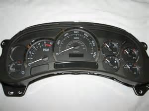 2004 Cadillac Escalade Instrument Cluster 2003 Silverado Cluster