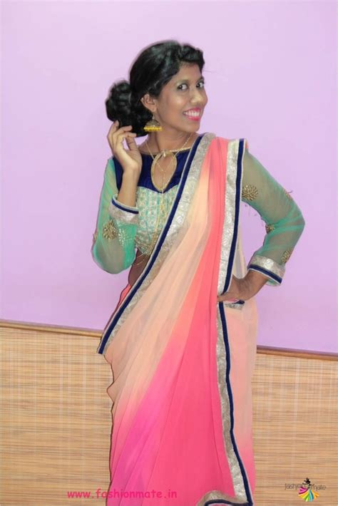 different ways of draping a saree 8 stylish different ways to drape a simple saree