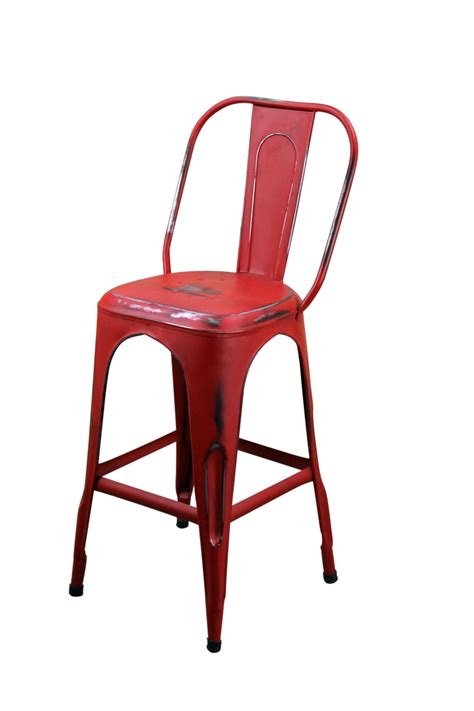 restaurant furniture bar stools red metal cafe bar stool mexican rustic furniture and