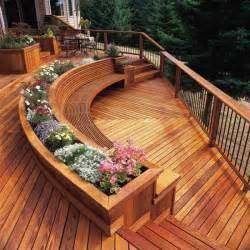 15 stunning deck design for beautifying the patio place
