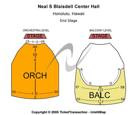 neal blaisdell center concert hall venues