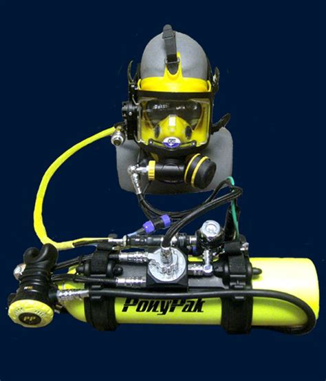 ponypak redundant surface supplied systems  underwater divers