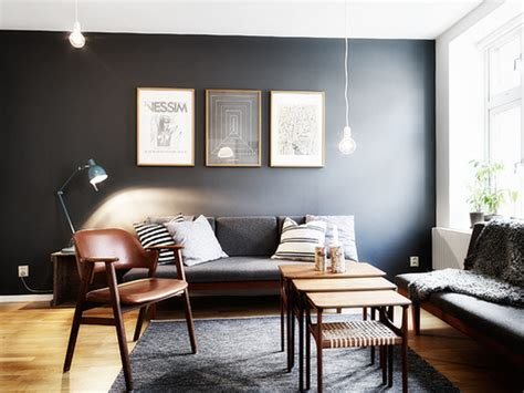 7 living rooms that proved dark paint colors are the best kukun