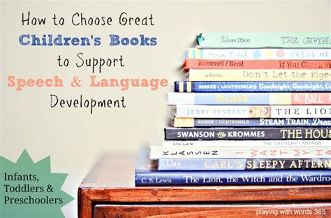 choosing to books how to choose great children s books to support speech