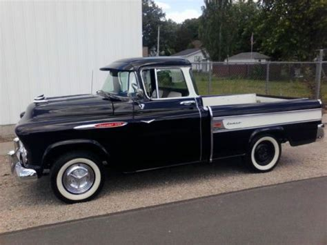 1957 chevy truck hot rod sell used 1957 chevy cameo truck pickup gasser rat rod