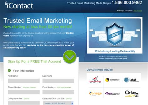 Email Newsletter Template Providers Web3mantra Icontact Email Templates