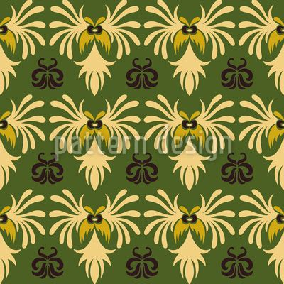 indonesian pattern design indonesian nature pattern design