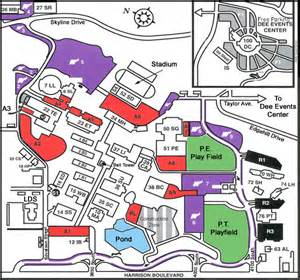 Weber State Map by Facilities Management Weber State University Ogden Utah