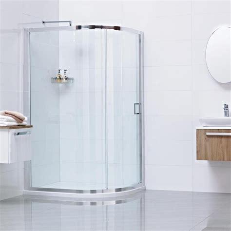 uk bathroom store roman lumin8 one door offset quadrant shower enclosure 800