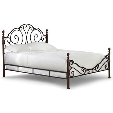 jcpenney king size bedding belvedere metal 4 poster bed cherry