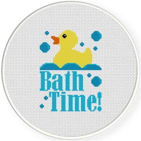 bathroom cross stitch patterns free bath time cross stitch pattern daily cross stitch