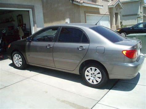 Toyota Corolla Per Gallon Purchase Used 2004 Toyota Corolla Le Sedan 4 Door 1 8l 35