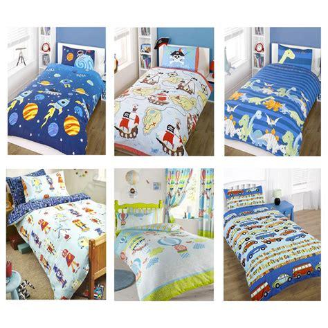 Boys Single Duvet Cover Boys Single Duvet Cover Amp Pillowcase Bedding Sets New Ebay