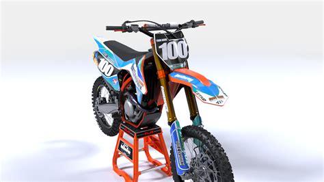 customize motocross ktm blitz semi custom motocross graphics bikegraphix