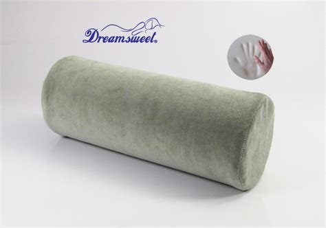 Neck Roll Pillows by Two Memory Foam Bolster Roll Pillow For Neck Cervical Lumbar A52 Ebay