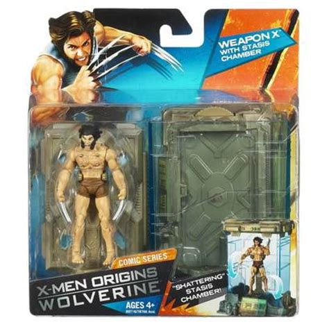 X Origins Wolverine Weapon X With Stasis Chamber weapon x with stasis chamber marvel wave 1 shelflife