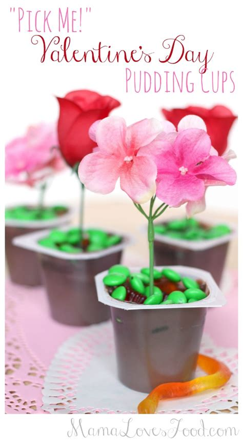 valentines pudding food quot me quot s day pudding cups