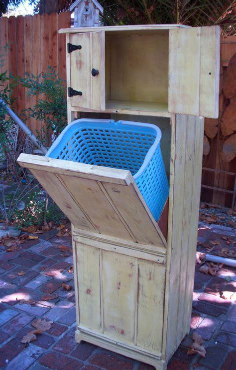 laundry hamper wood wooden furniture home decor laundry