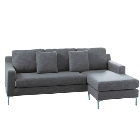 grey sofa oslo reversible corner sofa grey dwell