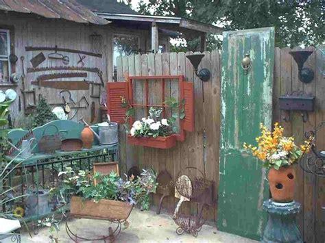 backyard junk garden junk room about the garden