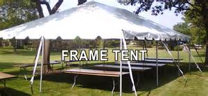 Pipe And Drape Chicago Frame Tent Rental In Chicago And Suburbs