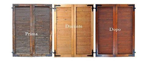 restaurare persiane in legno sverniciatura persiane sabbiature facciate